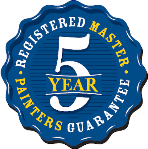 5 Year Painters Guarantee